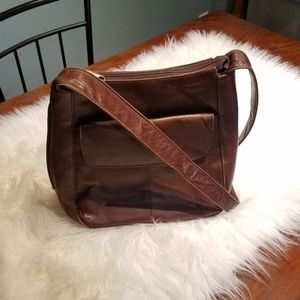 Vtg 90s Hobo Messenger Bag